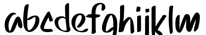 PWSkriptt Font LOWERCASE