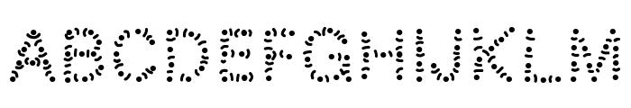 PWTribe Font UPPERCASE
