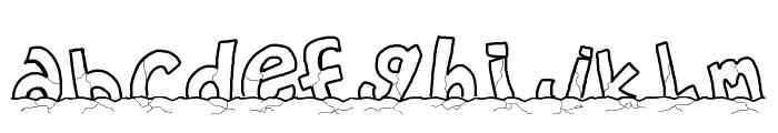 PWWORLDSEND2112 Font LOWERCASE