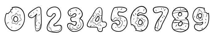 PWYummyDonuts Font OTHER CHARS