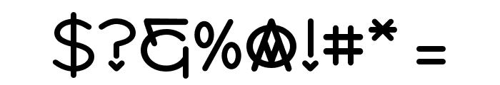 PW_Sans Regular Font OTHER CHARS