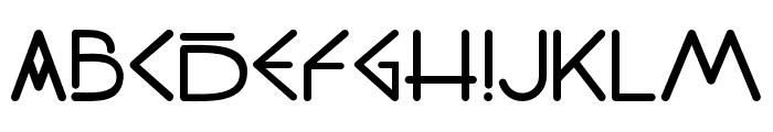 PW_Sans Regular Font LOWERCASE