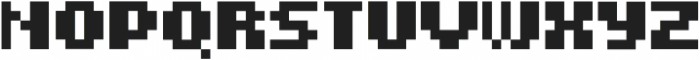 PYXELATE ttf (400) Font UPPERCASE