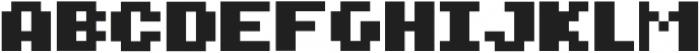 PYXELATE ttf (400) Font LOWERCASE