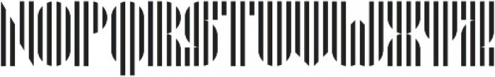 Pyrsing otf (400) Font UPPERCASE