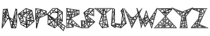 Pylon Font UPPERCASE
