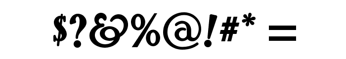 Pyriform Tones NF Font OTHER CHARS