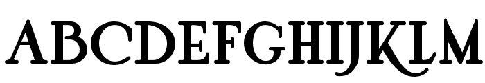 Pyriform Tones NF Font UPPERCASE