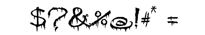 PyriteCrypt Font OTHER CHARS