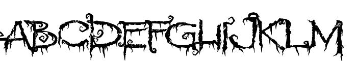 PyriteCrypt Font UPPERCASE