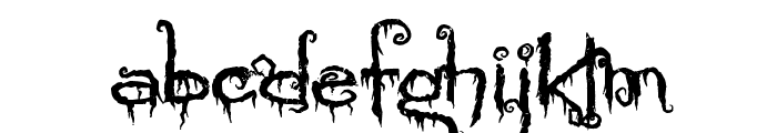 PyriteCrypt Font LOWERCASE