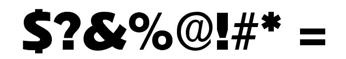 Pythagoras Regular Font OTHER CHARS