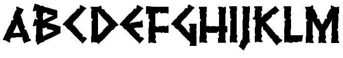 Pythia Font UPPERCASE