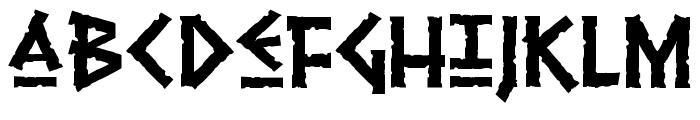 Pythia Font LOWERCASE