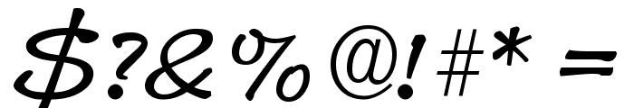 Pyxidium Quick Font OTHER CHARS