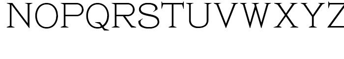 Pyramus NF Regular Font UPPERCASE