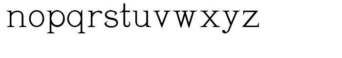 Pyramus NF Regular Font LOWERCASE