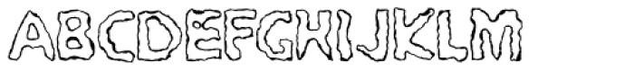 PYROmania EF Encenderse Font UPPERCASE