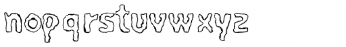 PYROmania EF Encenderse Font LOWERCASE