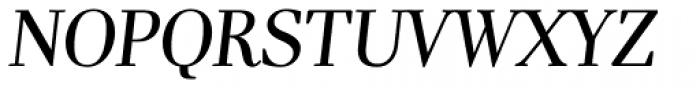 Pyke Display Italic Font UPPERCASE