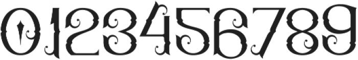 Qallos ttf (400) Font OTHER CHARS