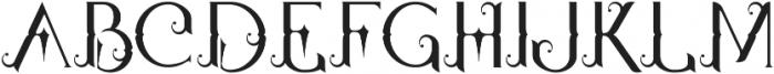 Qallos ttf (400) Font UPPERCASE