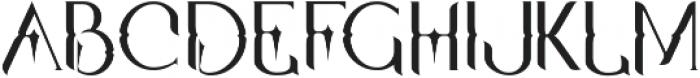 Qallos ttf (400) Font LOWERCASE