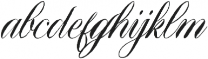 Qamila otf (400) Font LOWERCASE