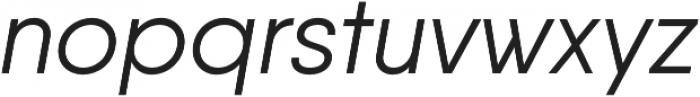 Qanelas Regular Italic otf (400) Font LOWERCASE