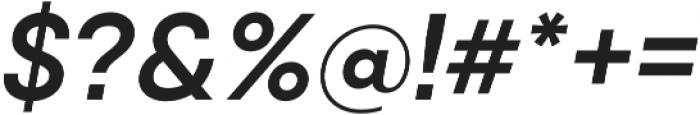 Qanelas SemiBold Italic otf (600) Font OTHER CHARS