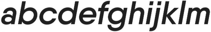 Qanelas SemiBold Italic otf (600) Font LOWERCASE