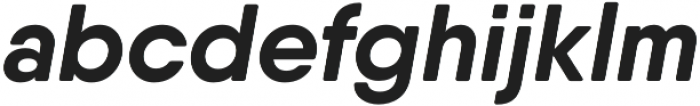 Qanelas Soft Bold Italic otf (700) Font LOWERCASE