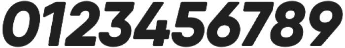 Qanelas Soft ExtraBold Italic otf (700) Font OTHER CHARS