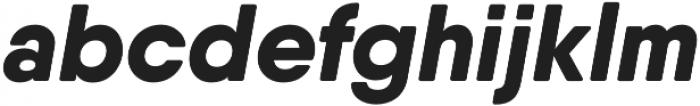 Qanelas Soft ExtraBold Italic otf (700) Font LOWERCASE