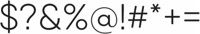 Qanelas Soft Light otf (300) Font OTHER CHARS