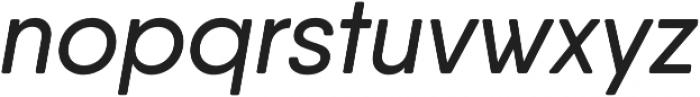 Qanelas Soft Medium Italic otf (500) Font LOWERCASE
