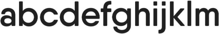 Qanelas Soft SemiBold otf (600) Font LOWERCASE