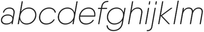 Qanelas Soft UltraLight Italic otf (300) Font LOWERCASE