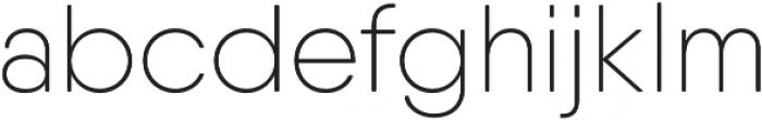 Qanelas Soft UltraLight otf (300) Font LOWERCASE