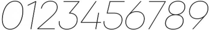 Qanelas Thin Italic otf (100) Font OTHER CHARS