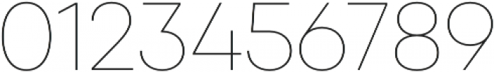 Qanelas Thin otf (100) Font OTHER CHARS