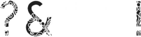 Qanterberry Deco otf (400) Font OTHER CHARS