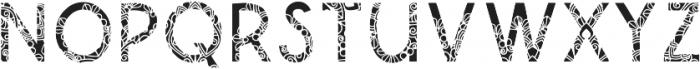 Qanterberry Deco otf (400) Font UPPERCASE