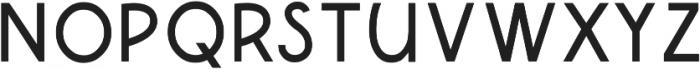 Qanterberry Deco otf (400) Font LOWERCASE