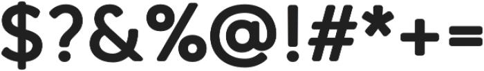 Qartella ExtraBold otf (700) Font OTHER CHARS