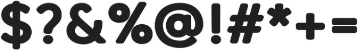 Qartella Heavy otf (800) Font OTHER CHARS