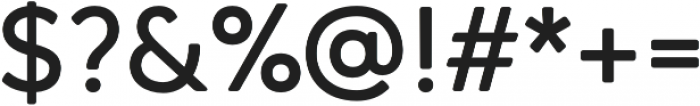 Qartella otf (700) Font OTHER CHARS