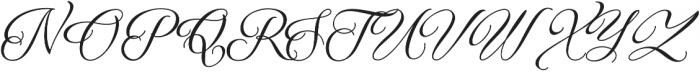 Qaskin Black otf (900) Font UPPERCASE