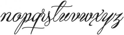 Qaskin Black otf (900) Font LOWERCASE