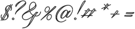 Qaskin White otf (400) Font OTHER CHARS